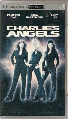 Umd Video For Sony Psp  - Charlie's Angels ( Cameron Diaz - Drew Barrymore -Liu)