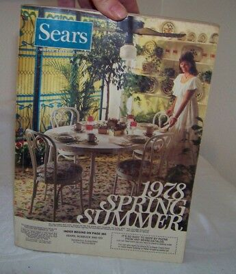 Sears Catalog Spring & Summer  1978 (Original / Vintage)