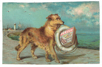Lifebuoy Soap Trade Card / Advertisement