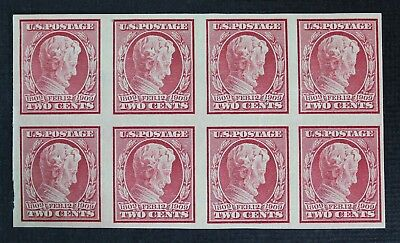 CKStamps: US Stamps Scott#368 2c Block Mint NH OG Lightly Gum Crease, Gum Dist
