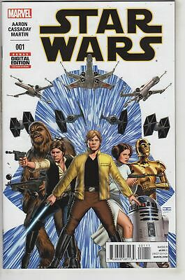 Star Wars 1 (with premiere items) Marvel 2015
