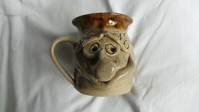 Pretty Ugly Pottery Mug - Made in Wales - Welsh Studio Pottery