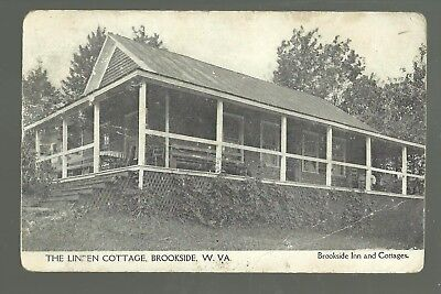 Brookside WEST VIRGINIA c1910 LINDEN COTTAGE Resort nr Eglon Aurora GHOST TOWN