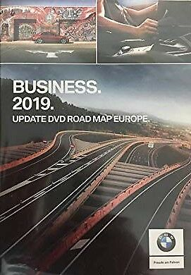 BMW Road Map Navigation BUSINESS 2019 DVD-1 Europa Oeste