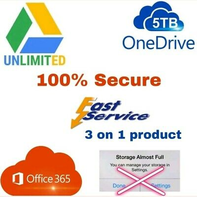 Unlimited google drive storage 🌟lifetime not edu⭐ on existing acc buy1 win 1fre