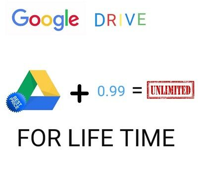 Unlimited Storage On Google Drive Existing Acc Not Edu Unlimited Data For Pc Mob