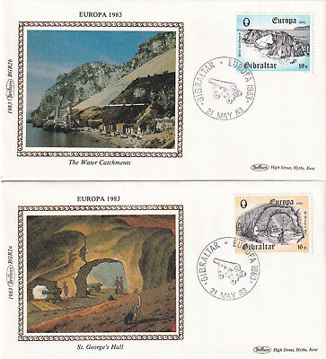 (23706) CLEARANCE Gibraltar Benham Covers EUROPA Water Catchments 21 May 1983