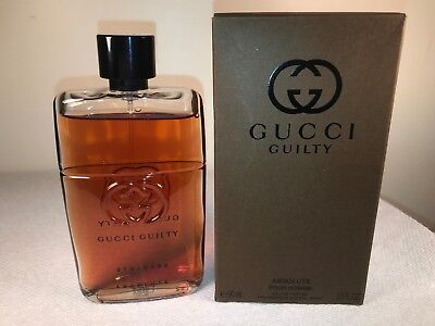 f7fda21d9 GUCCI GUILTY ABSOLUTE Pour Homme EDP - 90 ml / 3.0 fl oz NEW IN BOX ...