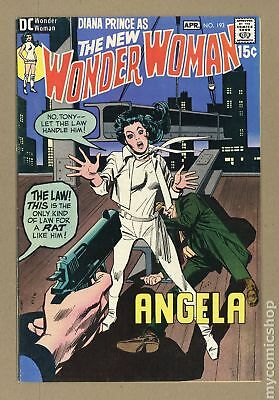 Wonder Woman (1st Series DC) #193 1971 VG+ 4.5