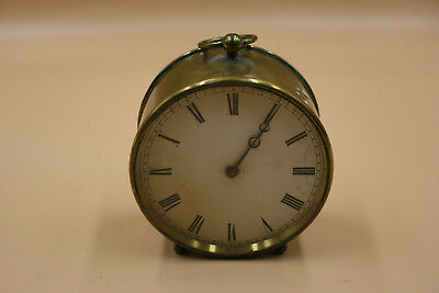 V.A.P. BREVET S.G.D.G Antique/Vintage Brass Movement Pendulum Clock - Working