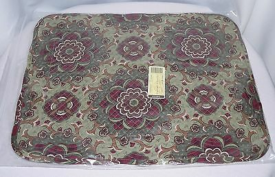 Longaberger Autumn Roads Quilted Placemats Set Of Two 2  Fall Colors - New