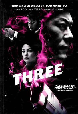 Three Action Movie Dvd 2016 Brand New Factory Sealed Free Shipping Tracking Us