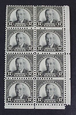 CKStamps: US Stamps Collection Scott#697 17c Block Mint NH OG