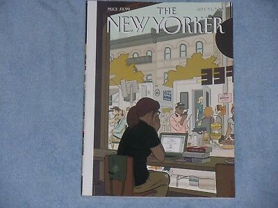 The New Yorker Magazine Sept. 24, 2018 Fourth Wall Cover By Adrian Tomine