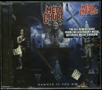 Metal Church Damned If You Do CD new