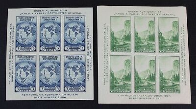 CKStamps: US Stamps Collection Scott#735 Unused NH NGAI, #751 NH OG Gum Crease