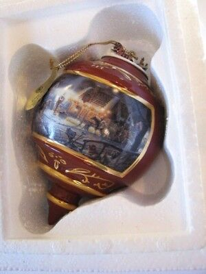 1999 Terry Redlin Sweet Memories Heirloom Porcelain Christmas Ornament w/ tag