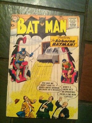 Dc Comics Batman 120 December 1958 Good Condition Silver Age Loose Page