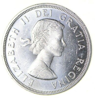 Silver Dollar 80% 1964 Canada Canadian ASW .60 Troy Ounces *336