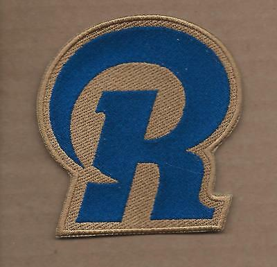 New 3 1/4 X 3 1/2 Inch Los Angeles Rams Iron On Patch Free Shipping V4
