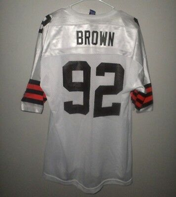 first rate 58091 0e864 CLEVELAND BROWNS JEFF Garcia youth lrg QB football jersey ...