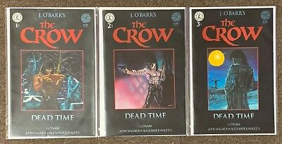 The Crow #1,2,3 J O'Barr's Dead time Complete Set lot nm