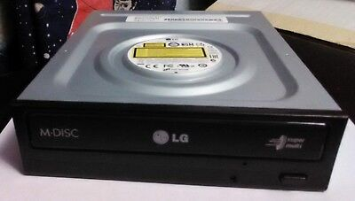 LG GH24NSC0 Internal 24x Super Multi DVD Writer, M Disc capable, SATA, used