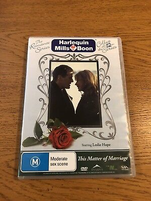 THIS MATTER OF MARRIAGE|Harlequin Mills And Boon|Region 4|DVD