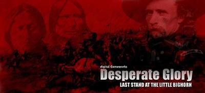 HPS Computer Game Desperate Glory - Last Stand at the Little Bighorn MINT