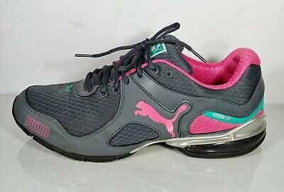 Puma iocell 1.0 Womens Size 9.5 Gray Pink ArchTec Running Walking Shoes ab46845e1