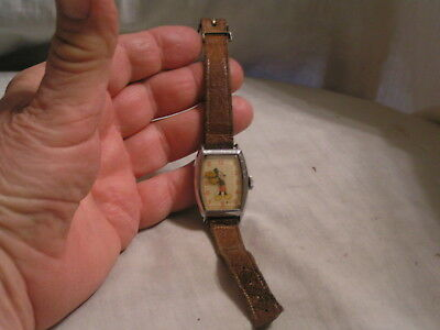 Us Time Made Mickey Mouse Watch With Original Strap