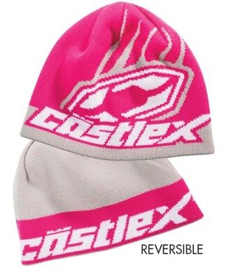 Castle X Beanie Hat Flip-It Magenta (Pink)