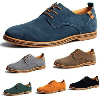2019 Suede European style leather Shoes Men's oxfords Casual Multi Size FDSGDXF