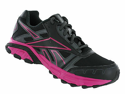 eb4aa9aeeb1 REEBOK TRACE DIRT Cutter Noir Léger Sports Baskets pour Femme 3-8 UK - EUR  31