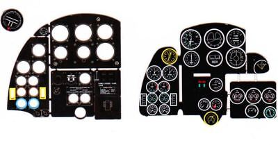 3D INSTRUMENT PANEL TO ALL KITS #7267 1//72 YAHU COLORED H-75 HAWK PHOTOETCHED