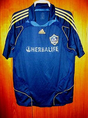 LA Galaxy Football Shirt  2007 Away Shirt size XL 44/46 Los Angeles Galaxy MLS