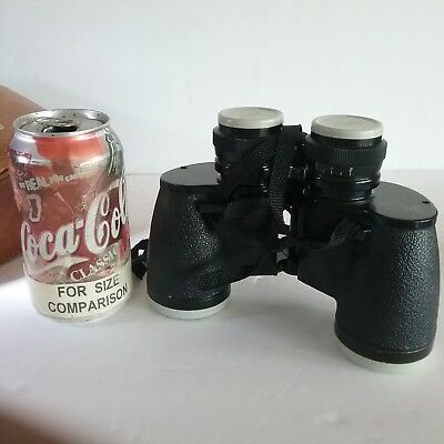 ~DUTCH AUCTION~ Sans & Streiffe #910 7x35 wide angle BINOCULARS and Carry Case