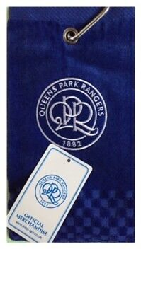 ec8bf44a983 New 2018 Queens Park Rangers Fc Cross Tri Fold Golf Towel By Premier  Licensing.
