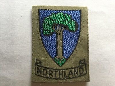 New Zealand Scouts old obsolete extinct Northland County badge