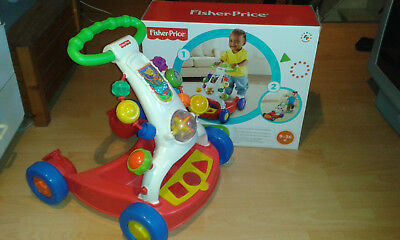 Trotteur fisher price 2 en 1