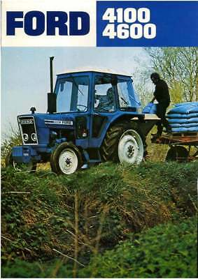 Ford Tractor 4100 and 4600 Brochure