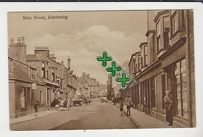 Photo ? Postcard - Main Street, Kilwinning - P/m 1933