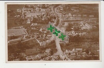 Photo Postcard - Kilwinning From The East From An Aeroplane - P/m 1934