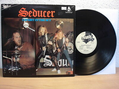 Seducer - Caught In The Act Mega Rare Metal Lp In Top Condition