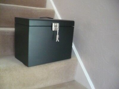 A Metal Lockable File Cabinet A4 Size Portable With Two Keys