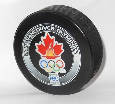 extra hard FIND official hockey puck CANADA winter olympic games 2010 VANCOUVER