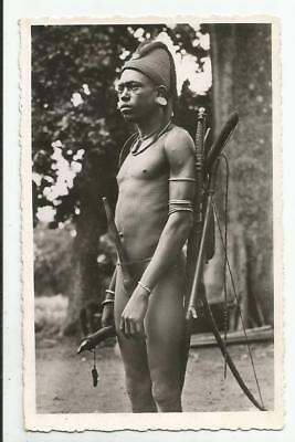 Nu masculin Chasseur Somba Dahomey