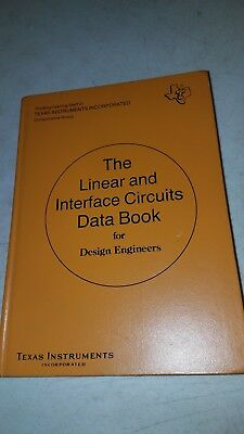 Texas Instruments The Linear Interface Circuits Data Book 1973 first edition