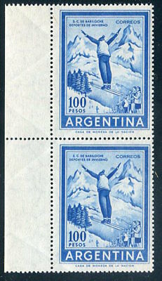 ARGENTINA  704  Beautiful  Mint  Never  Hinged  Pair  UPTOWN 47654