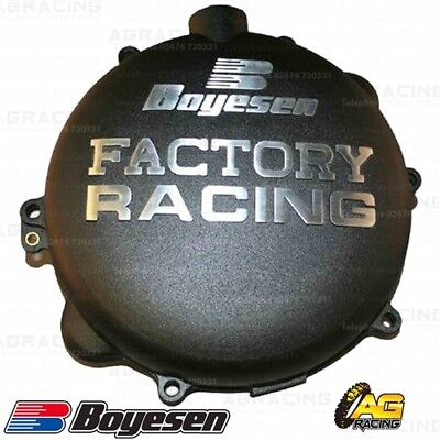 Boyesen Factory Racing Black Clutch Cover For KTM XC 300 2004